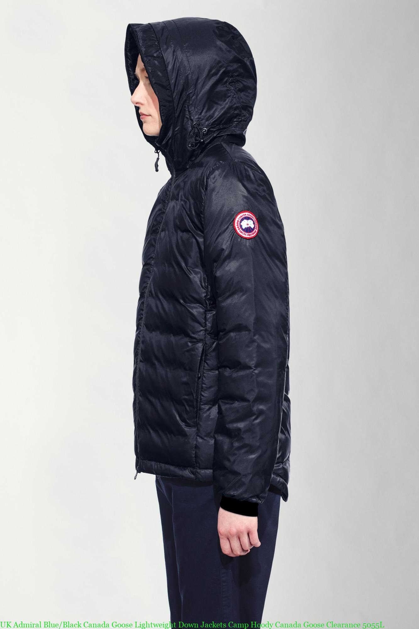8ac01a2e88d UK Admiral Blue/Black Canada Goose Lightweight Down Jackets Camp Hoody  Canada Goose Clearance 5055L
